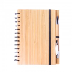 Bloc note en bambou